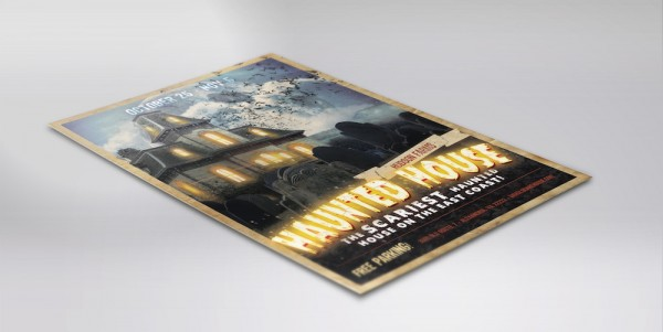 Haunted House Flier and Poster