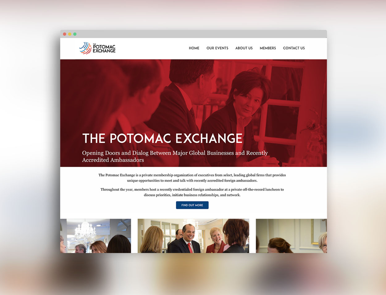 Potomac Exchange Website