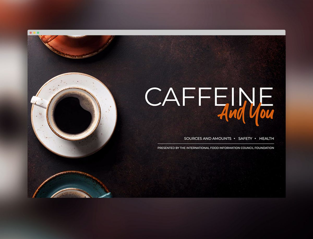 Caffeine And You Microsite