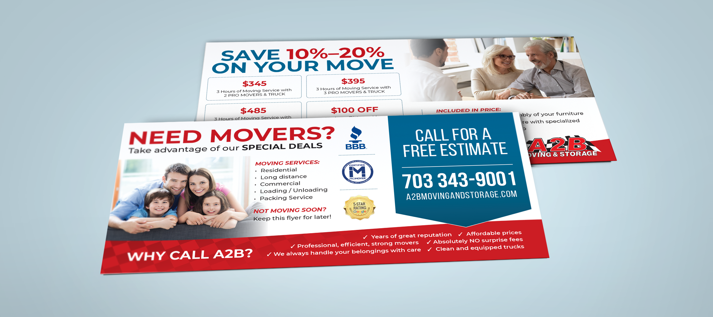 Moving Company Postcard